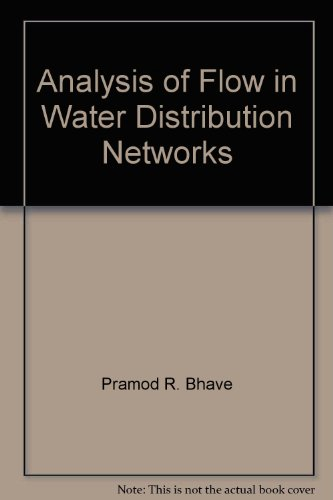 9780877627326: Analysis of Flow in Water Distribution Networks