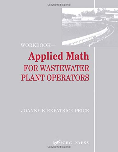 9780877628101: Applied Math for Wastewater Plant Operators - Workbook