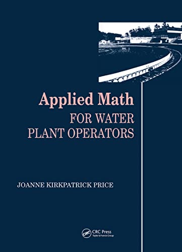 9780877628743: Applied Math for Water Plant Operators