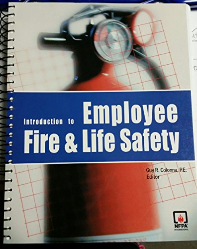 9780877654551: Introduction to Employee Fire And Life Safety