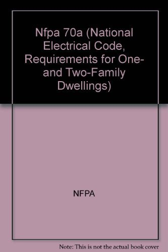 9780877655428: Nfpa 70a (National Electrical Code, Requirements for One- and Two-Family Dwellings)