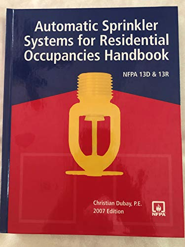 9780877657545: Automatic Sprinkler Systems for Residential Occupancies Handbook