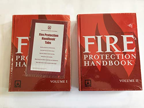 Fire Protection Handbook (2 Volume Set): National Fire Protection Association