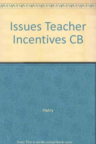 9780877663737: Issues and Case Studies in Teacher Incentive Plans