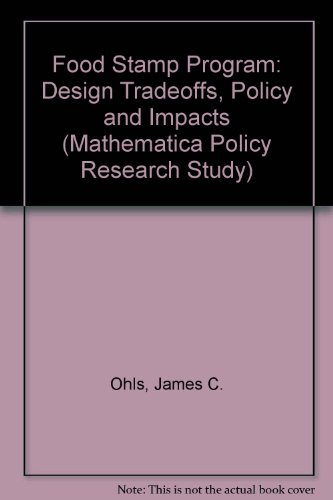 9780877665762: FOOD STAMP PROGRAM, THE (Mathematica Policy Research Study)