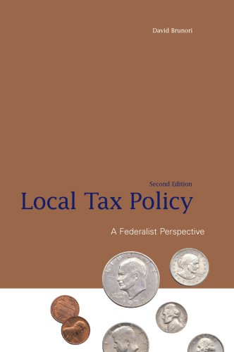 9780877667445: Local Tax Policy: A Federalist Perspective