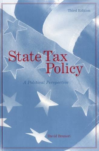 9780877667728: State Tax Policy: A Political Perspective (Urban Institute Press)