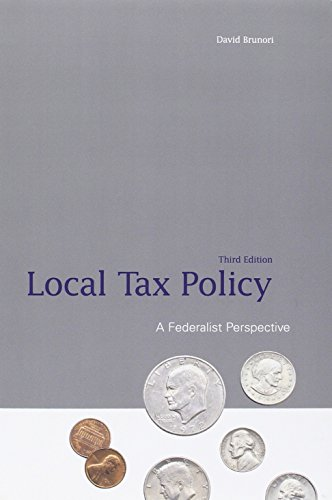 9780877667803: Local Tax Policy