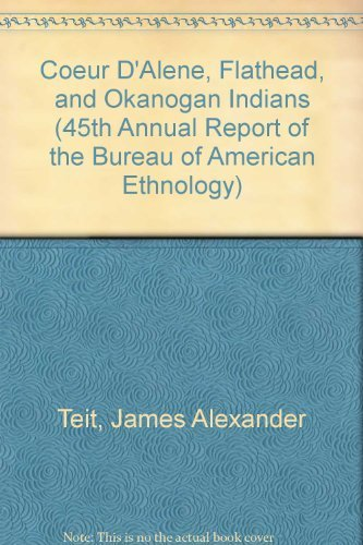 9780877703709: Coeur d'Alene, Flathead and Okanogan Indians
