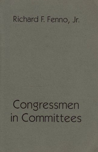 9780877723622: Congressmen in Committees