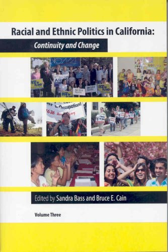 9780877724285: Racial and Ethnic Politics in California: Continuity and Change, vol. 3