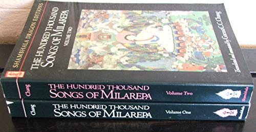 9780877730958: The Hundred Thousand Songs of Milarepa: v. 1 (Shambala dragon editions)