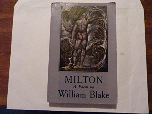 9780877731290: Milton: A Poem
