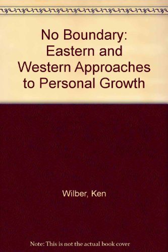 9780877732136: No Boundary: Eastern and Western Approaches to Personal Growth