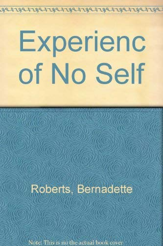 9780877732891: Experience of No Self