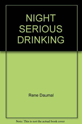 9780877733355: Night Serious Drinking