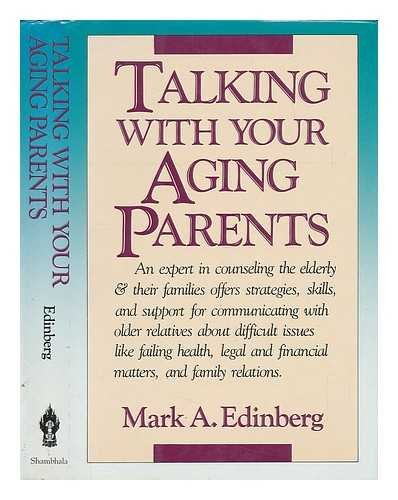 9780877733904: Talking With Your Aging Parents
