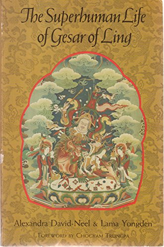 9780877734123: The Superhuman Life of Gesar of Ling