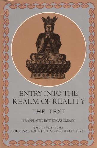 Entry Into the Realm of Reality, The: CLEARY, Thomas (translator)