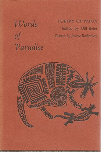 9780877750314: Words of Paradise: Poetry of Papua New Guinea (Unicorn anthology series)