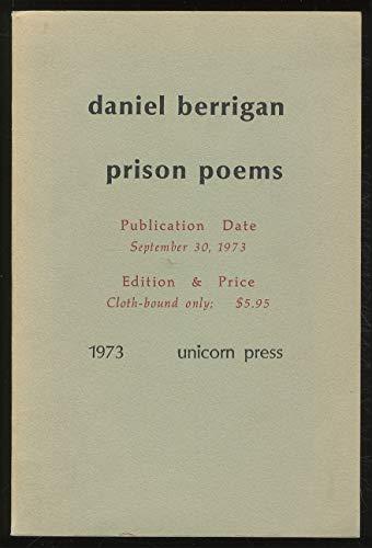 Prison Poems: Berrigan, Daniel