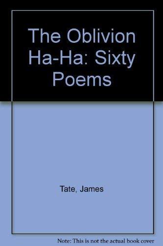 9780877751717: The Oblivion Ha-Ha: Sixty Poems