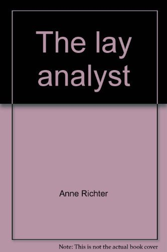9780877770329: The lay analyst
