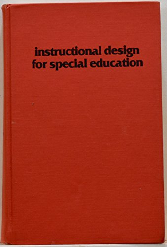 9780877781790: Instructional Design for Special Education