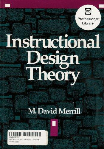 9780877782759: Instructional Design Theory