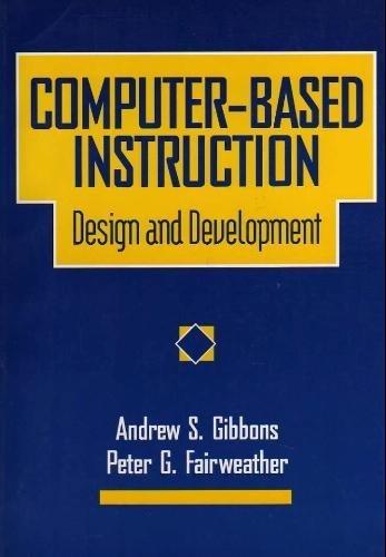 9780877783015: Computer-Based Instruction : Design and Development