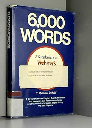 9780877790075: 6000 Words