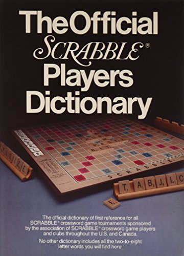 9780877790204: The Official Scrabble Players Dictionary