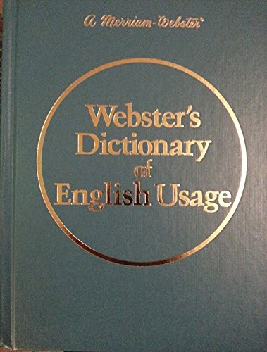 9780877790327: Webster's Dictionary of English Usage