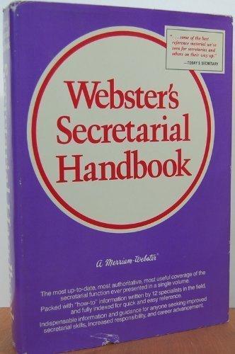 Webster's Secretarial Handbook: Merriam-Webster