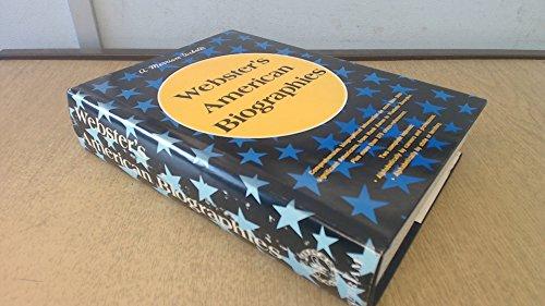 Webster's American biographies (0877790531) by Charles Lincoln Van Doren