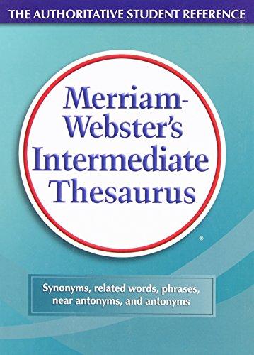 9780877790761: Merriam-Webster's Intermediate Thesaurus