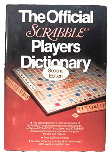 9780877791201: The Official Scrabble Players Dictionary