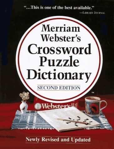 MERRIAM-WEBSTER'S CROSSWORD PUZZLE DICTIONARY (Second Edition): Merriam-Webster