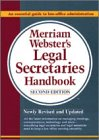9780877791348: Merriam-Webster's Legal Secretaries Handbook