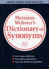 9780877791416: Webster's New Dictionary of Synonyms: A Dictionary of Discriminated Synonyms With Antonyms and Analogous and Contrasted Words