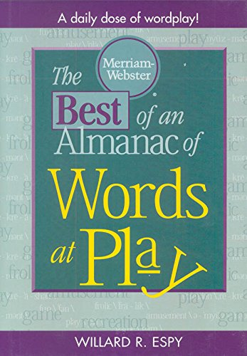 9780877791454: The Best of An Almanac of Words at Play
