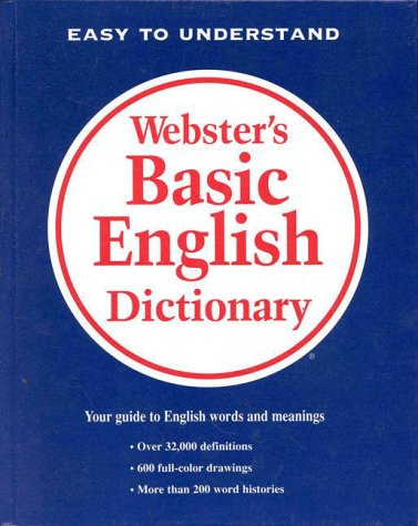9780877791508: Webster's Basic English Dictionary