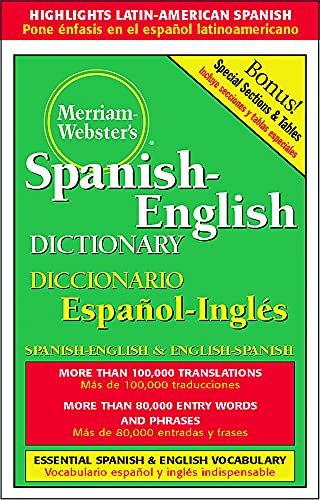9780877791652: Dic Merriam-Webster's Spanish-English Dictionary