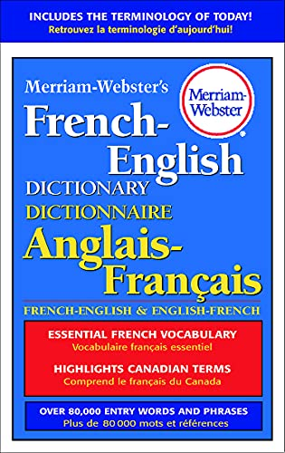 9780877791669: Merriam-Webster's French-English Dictionary, newest hardcover edition (English and French Edition)