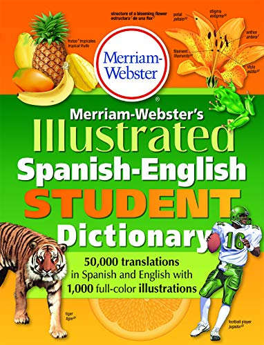 9780877791775: Merriam-Webster's Illustrated Spanish-English Student Dictionary