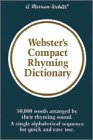 9780877791850: Webster's Compact Rhyming Dictionary