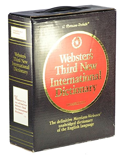 9780877792024: Webster's Third New International Dictionary/Unabridged