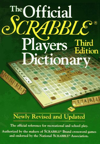 9780877792208: The Official Scrabble Player's Dictionary
