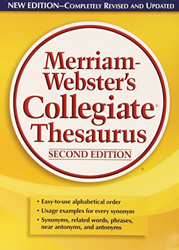 9780877792697: Merriam-Webster's Collegiate Thesaurus, Second Edition