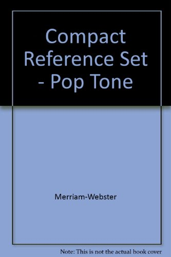 9780877792826: Merriam Webster's Compact Reference Set